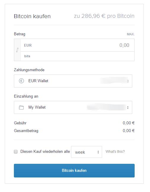 Bitcoin kaufen – Coinbase