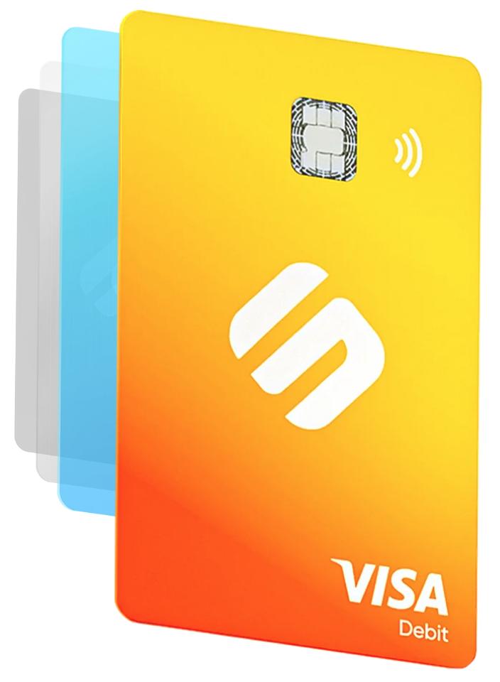 Swipe Kreditkarte - Version Saffron