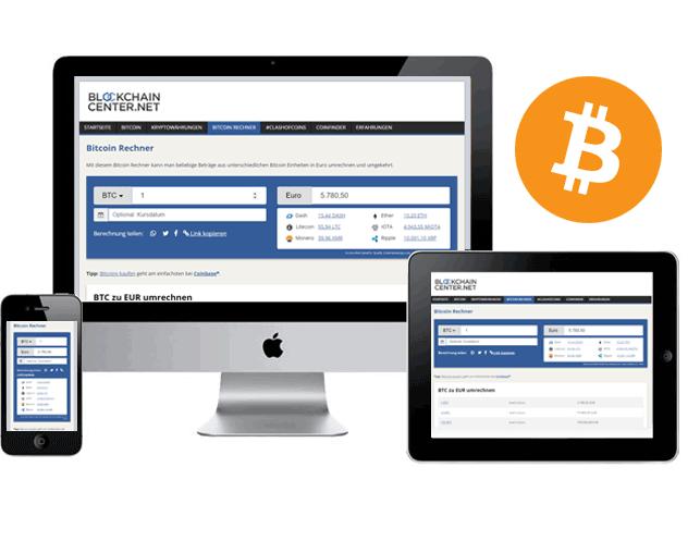 Bitcoin Umrechnen